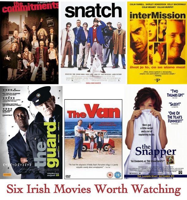 six irish movies