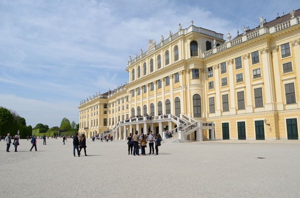 summer palace vienna