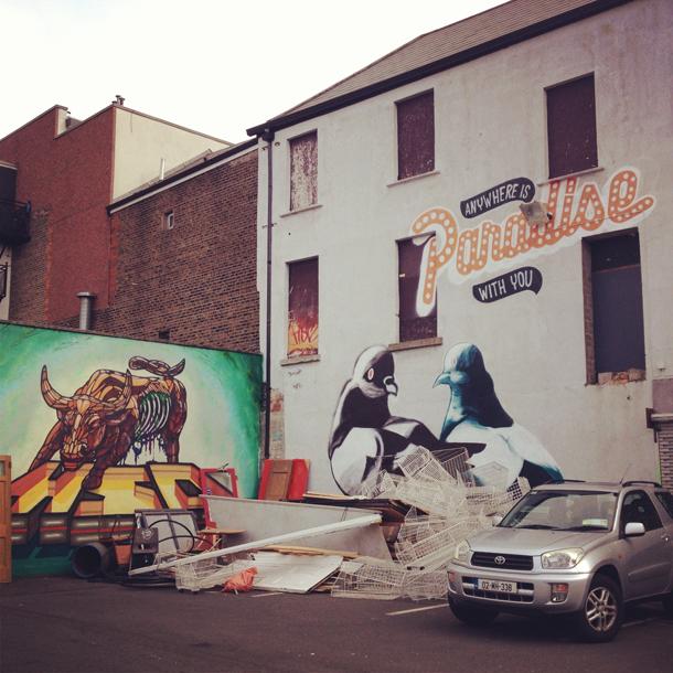 tivoli street art dublin