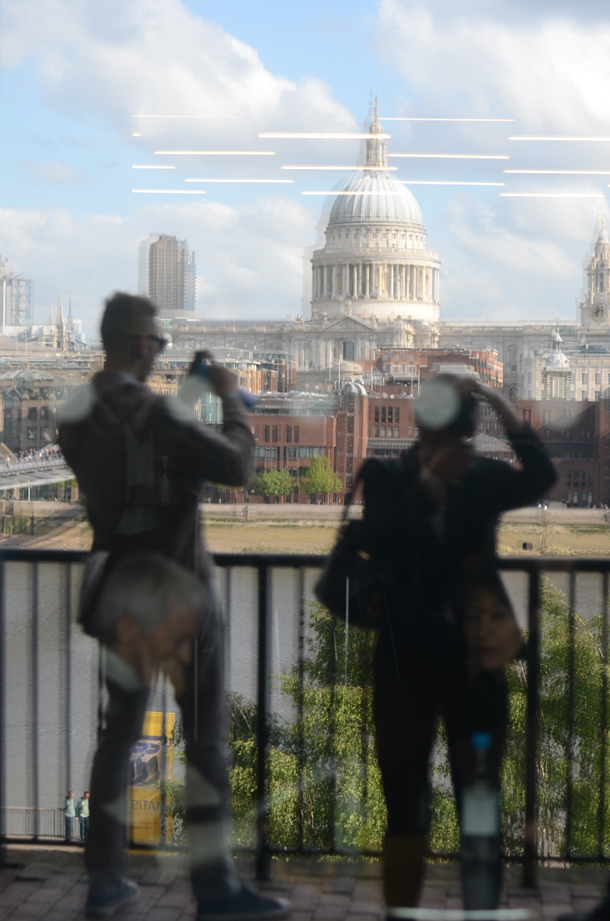 reflection and tate modern view