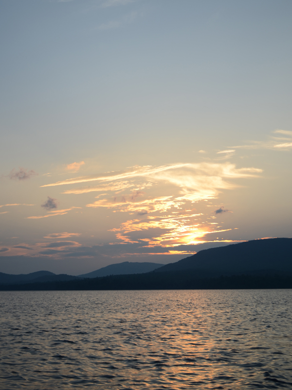 flagstaff_lake_maine_sunset
