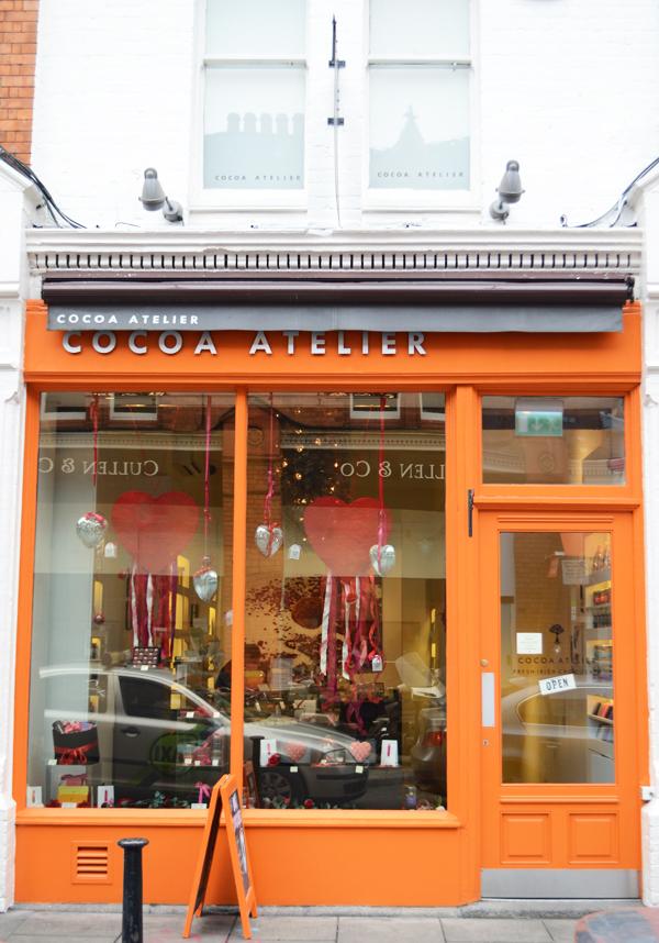 Cocoa Atelier Chocolate Shop in Dublin