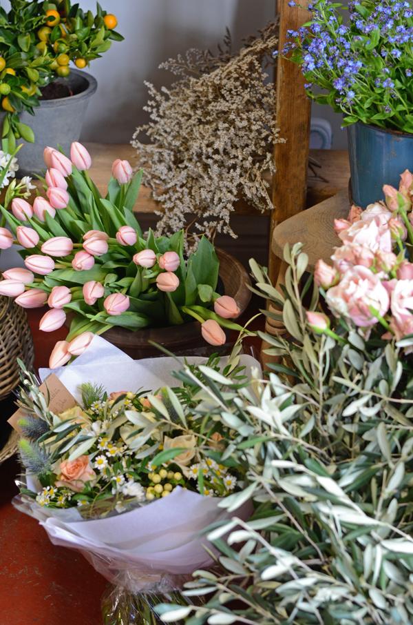 Dublin wedding flowers Les Fleurs