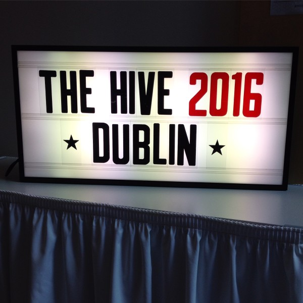 The Hive Conference Comes to Dublin