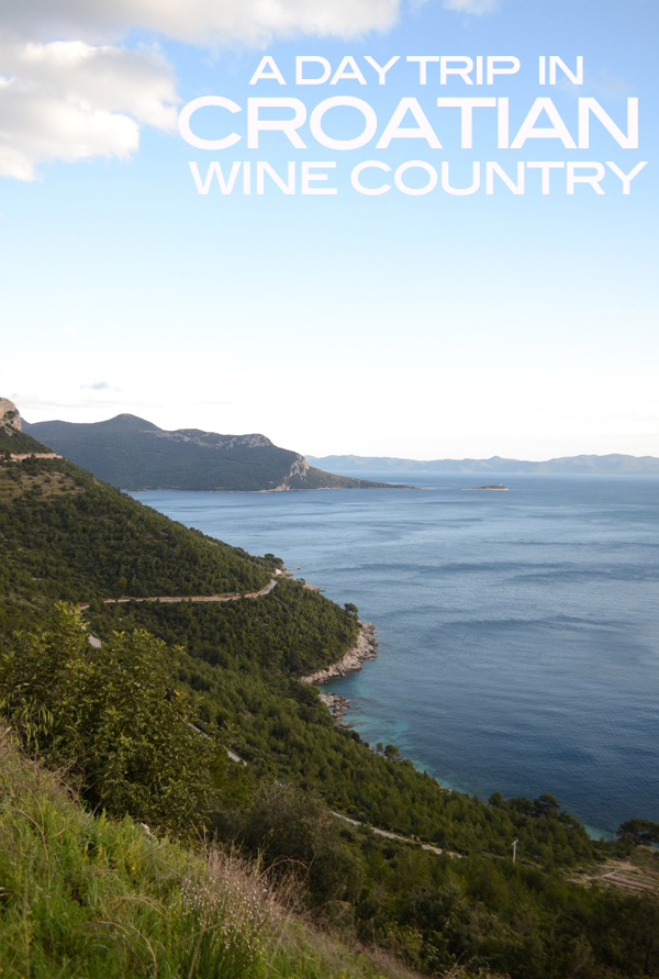 A day trip in Croatian wine country