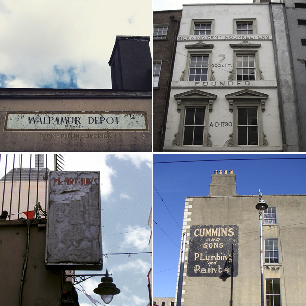 Best Irish Instagram Accounts to Follow - Dublin Ghost Signs