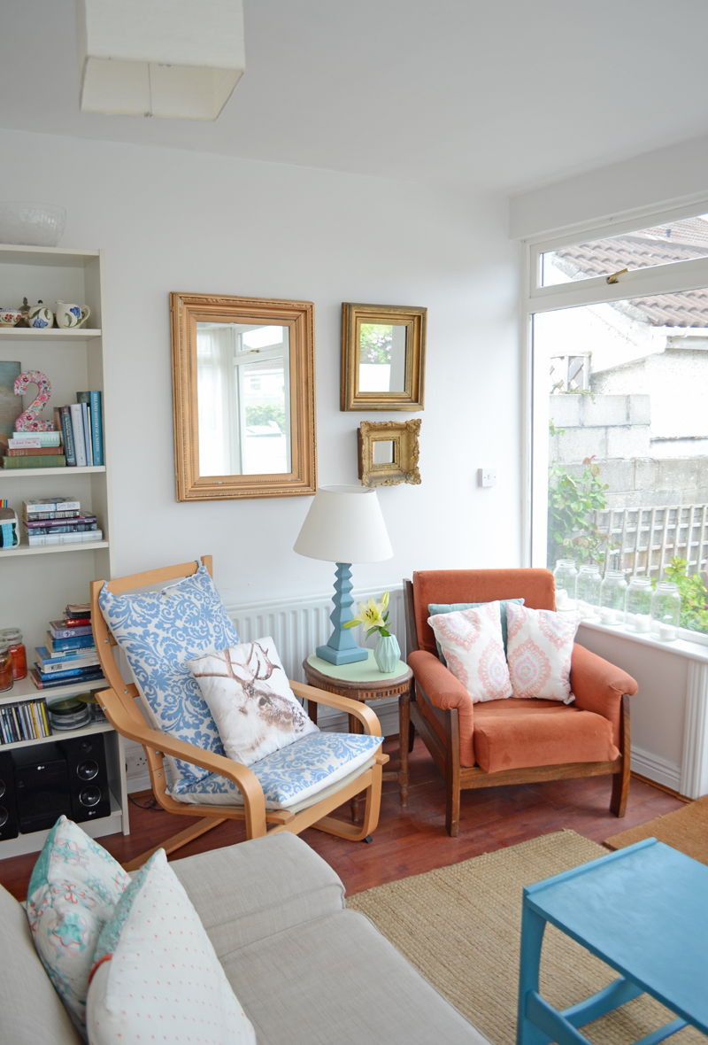 A Bright Living Room Makeover – From China Village