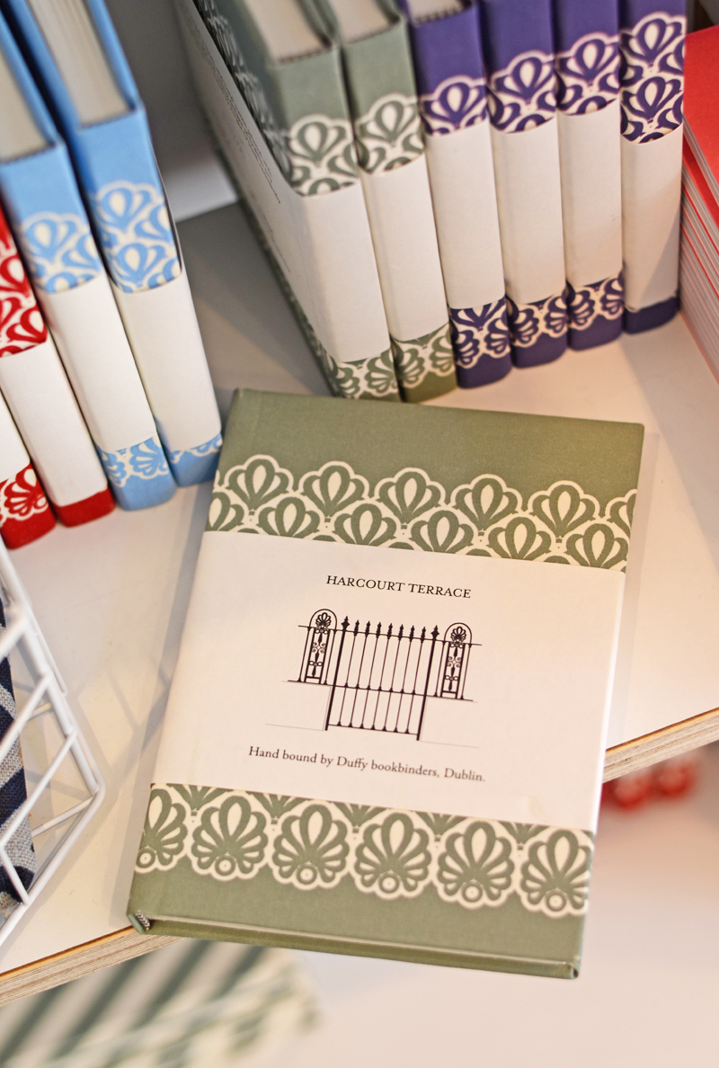 Irish notebooks from the Irish Design Shop, Dublin, Ireland