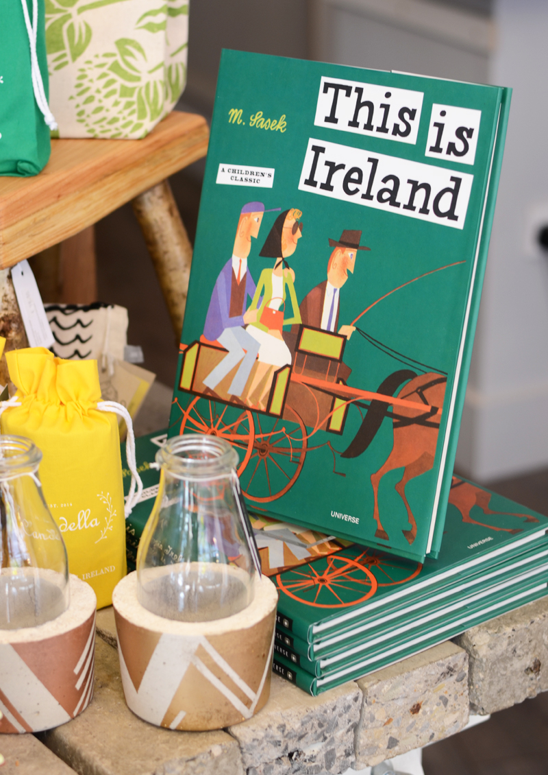 Souvenirs and gifts at the Irish Design Shop in Dublin