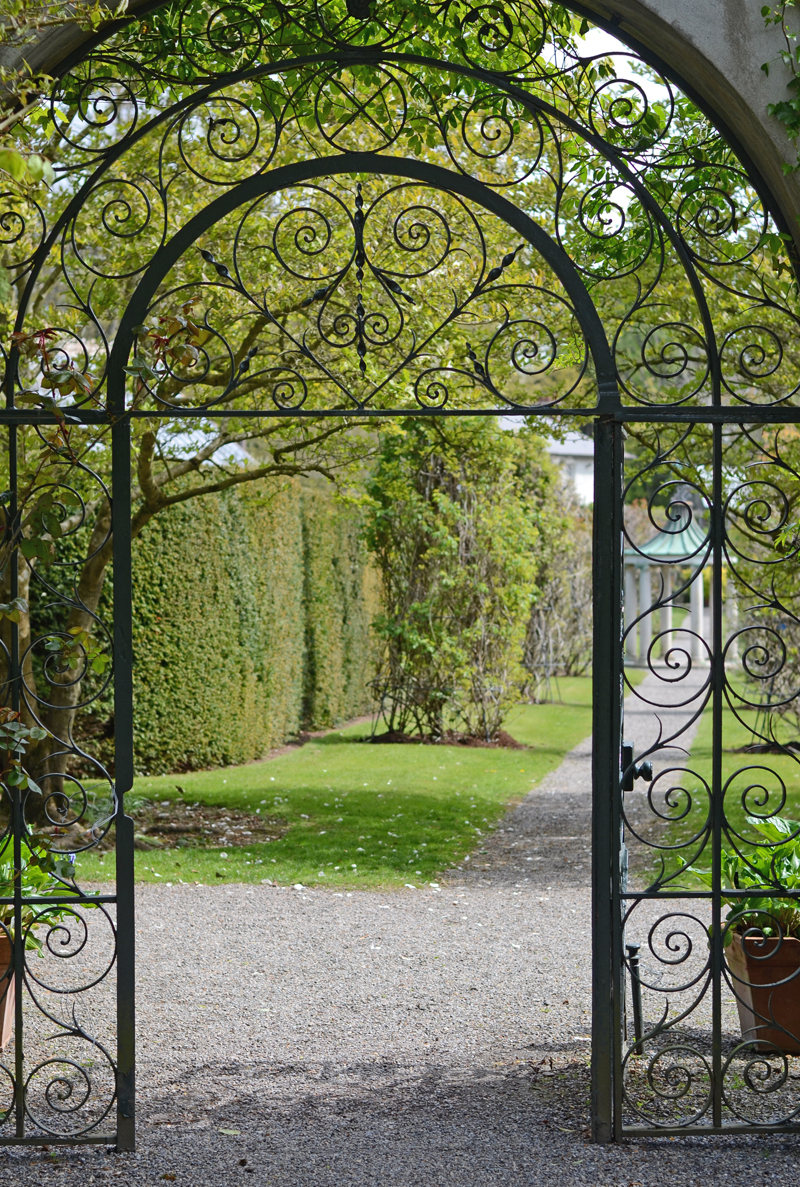 Walled garden at Farmleigh, Phoenix Park, Dublin