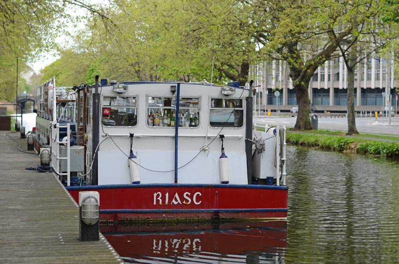 La Peniche, floating restaurant, Dublin, Ireland