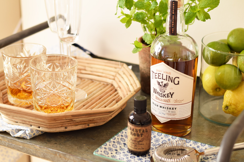 teeling-whiskey-bar-cart-dublin