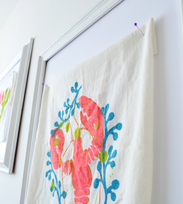 weekend projects easy framing trick from china village