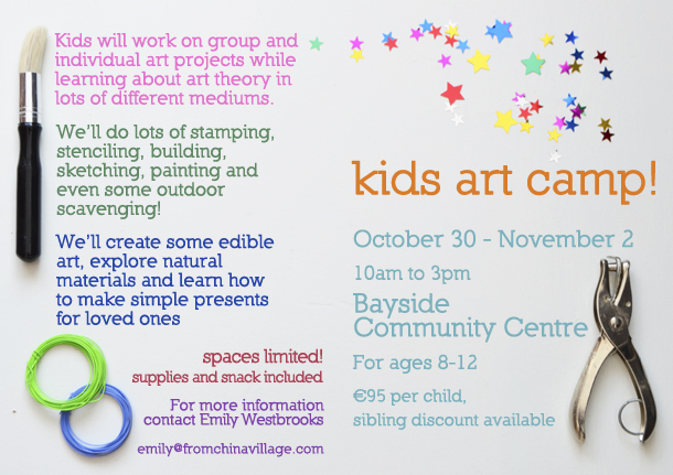 Kids Craft Camp in Dublin