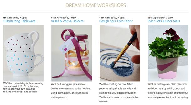dream home classes