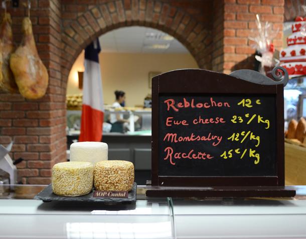 paris bakery counter