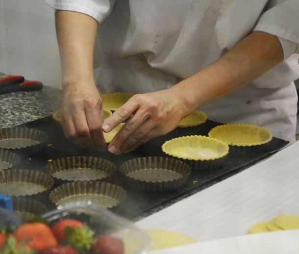 paris bakery making