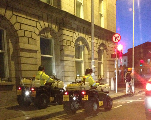 four wheelers dublin