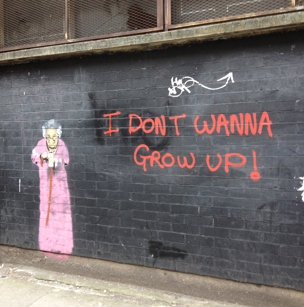 granny graffiti