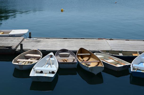 row boats swans island 2