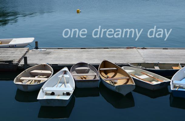 row boats swans island text