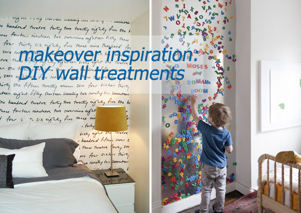 makeover diy walls