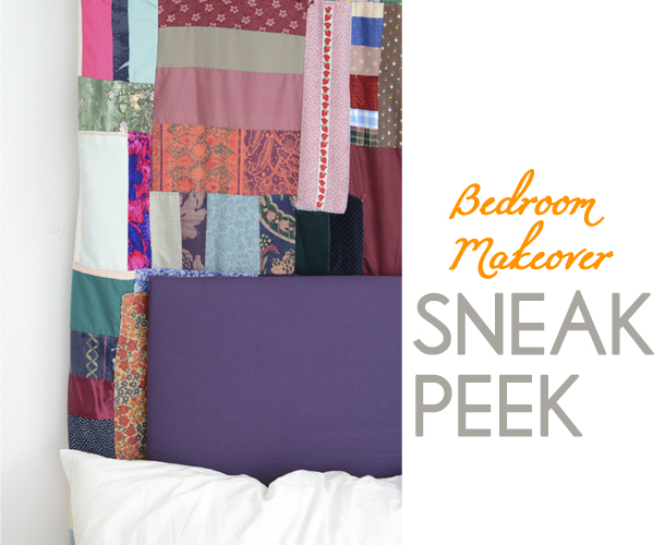 bedroom makeover sneak peek
