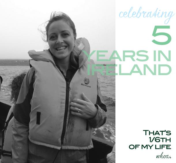5 years in ireland
