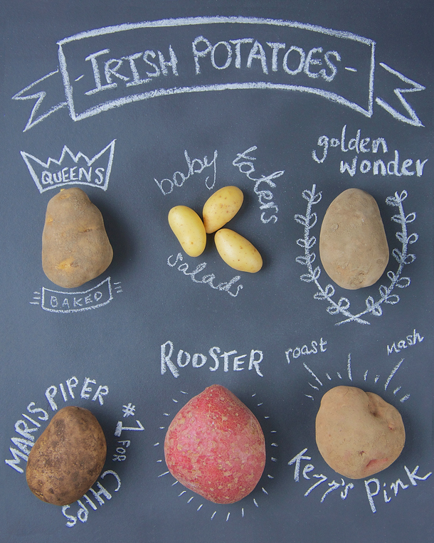 what kind of irish potatoes to buy